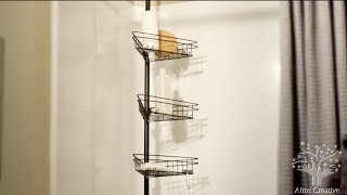 Tension Shower Caddy Instructional