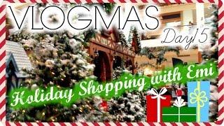 VLOGMAS DAY15 2015/12/15  ホリデーショッピング!! ビログマス