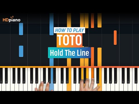 How To Play Hold The Line  Toto  HDpiano Part 1 Piano Tutorial