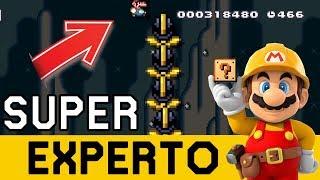 NADA PUEDE SALIR MAL !! - SUPER EXPERTO NO SKIP | Super Mario Maker - ZetaSSJ