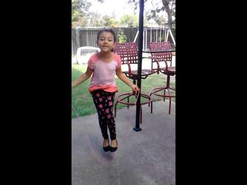 Cinderella jump rope song