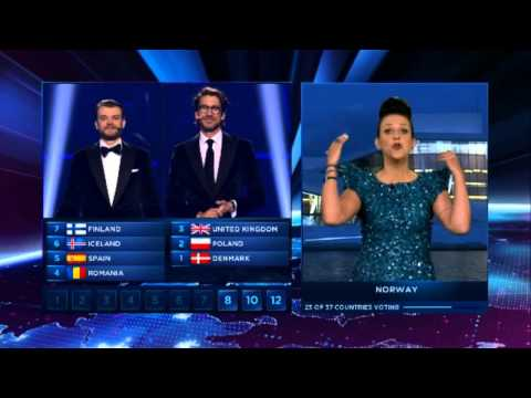 Eurovision 2014 Full Voting Grand Final - Winner is Pronounced!