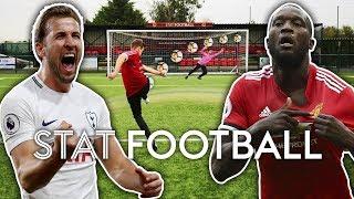Quick-Fire Volleys! | Who Is The Better Striker, Lukaku Or Kane? | Stat Football ⚽