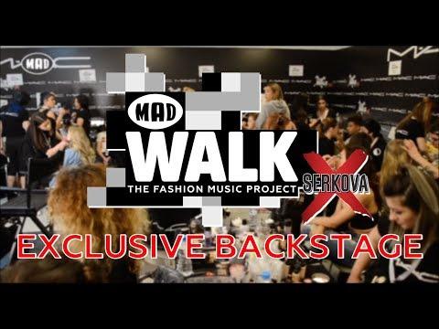 Hair and Make Up Fever   Backstage @ MadWalk 2018 by Serkova