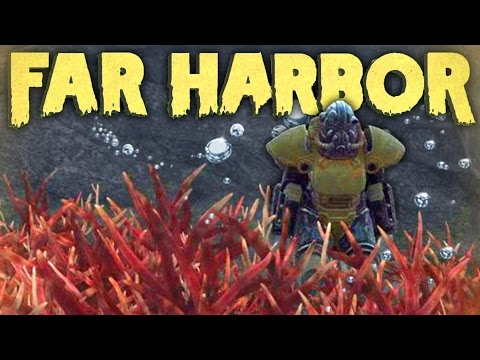 Fallout 4 Far Harbor Underwater - Power Armor, Mannequin Ship, Chests & More (Fallout 4 DLC)