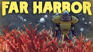 Fallout 4 Far Harbor Underwater SECRETS- Power Armor, Mannequin Ship, Chests More Fallout 4 DLC