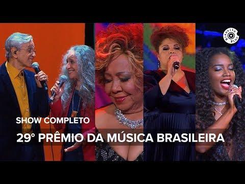 29° Prêmio da Música Brasileira ano Luiz Melodia show completo