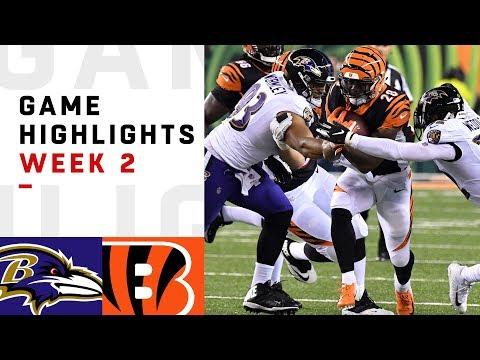Ravens vs. Bengals Week 2 Highlights | NFL 2018