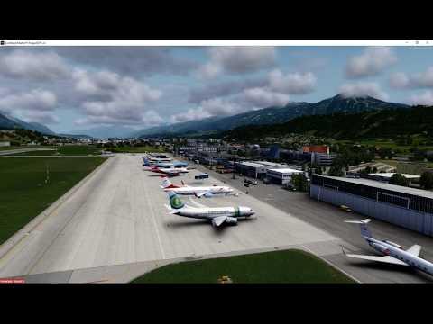 Austrian Airlines LOWI/LEBB