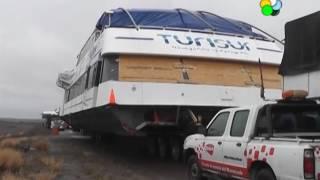 Maquinchao: Trasladan el Catamaran por Ruta 23