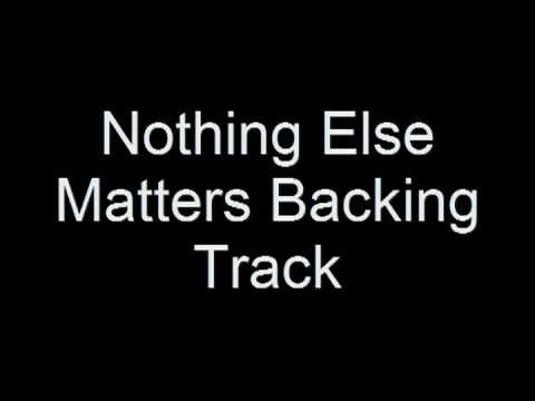Metallica - Nothing Else Matters (Backing Track)