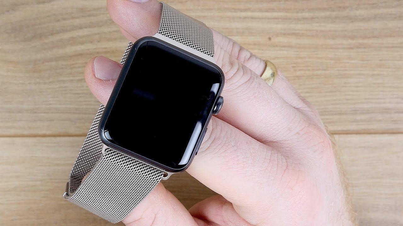 Elegant Und Edel Apple Watch Drittanbieter Milanaise Armband Von Vikatech Test Fazit Deutsch