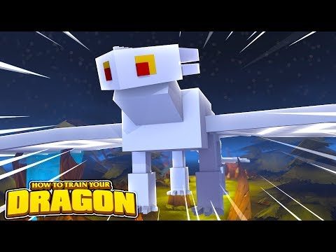 THE WHITE DRAGON VISITS! HOW TO TRAIN YOUR DRAGON #59 w/ Little Lizard