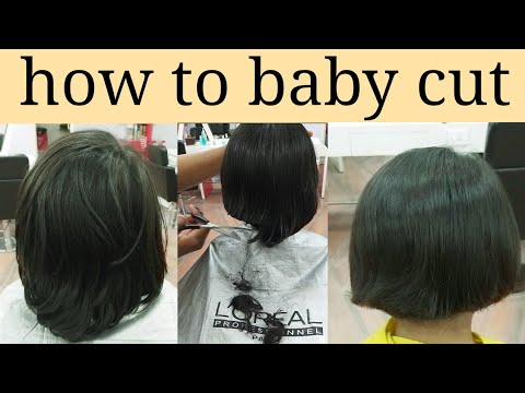 How To Baby Haircut Step By Step In Hindi Youtube