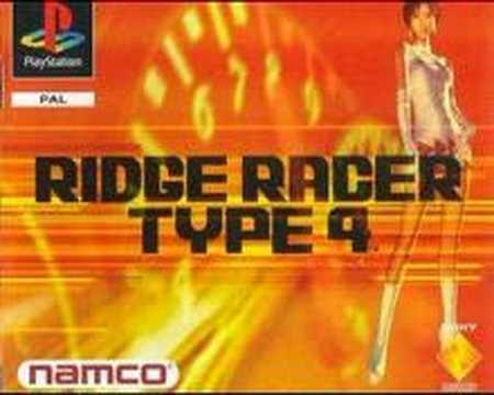 RIDGE RACER TYPE 4 SOUNDTRACK 6 (PEARL BLUE SOUL)