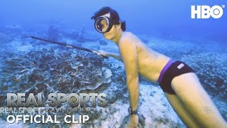 The Art of Freediving   Real Sports w/ Bryant Gumbel   HBO