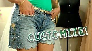 Transforme sua Calça Velha em um Shorts Estiloso