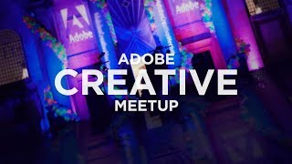 Attending the Adobe Creative Meetup 2018 #spon