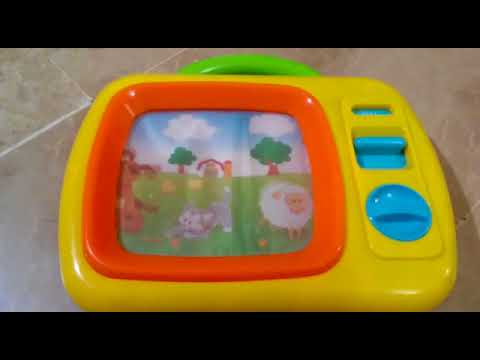 Playgro Sights and Sounds Music Box TV STEM toy for Baby