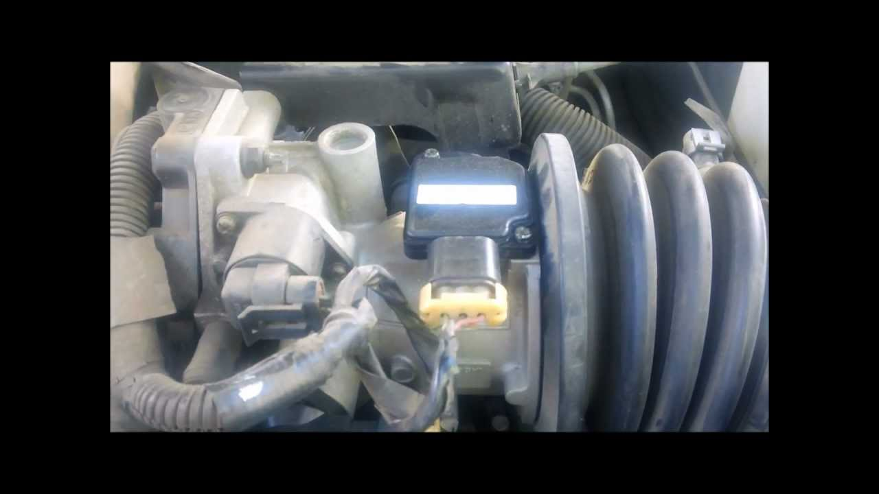 Where Is Mass Airflow Sensor Maf Sensor On A 1997 Buick