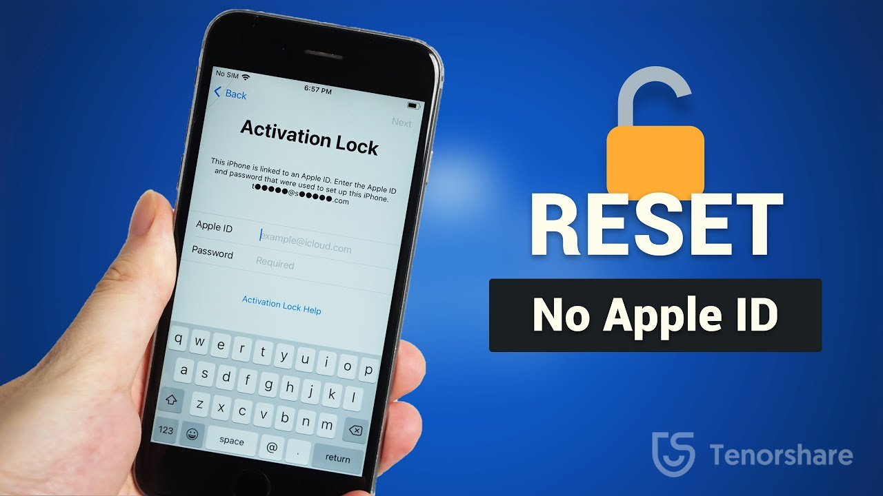 reset iphone without apple id  For GSM