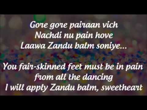 'Baby Doll'  Lyrics   Translation  'Ragini MMS 2' 2014