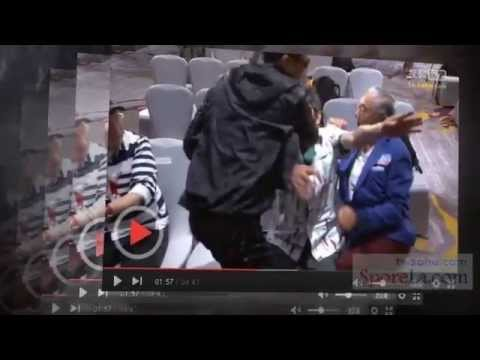 Patrick Tse 谢贤 slaps Kenneth Tsang 曾江, Grandpas Fight