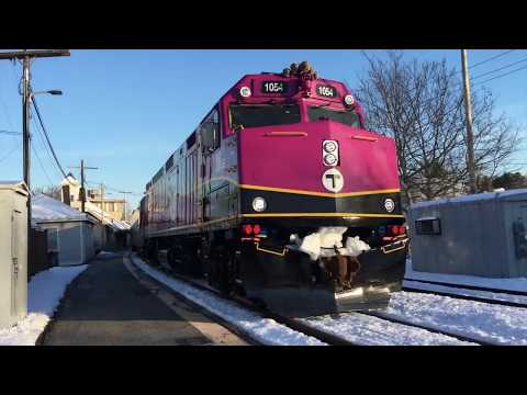 1054 TWICE, Double Header, And MP36 In CRAZY Railfan Day!!