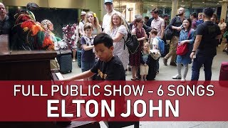 Elton John 6 Songs in a Row One Take Live Session Cole Lam 12 Years Old
