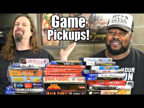 Game Pickups from Metal Jesus & Reggie - 35 Amazing Titles!