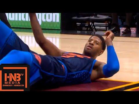 Oklahoma City Thunder vs Cleveland Cavaliers 1st Half Highlights | 11.07.2018, NBA Season