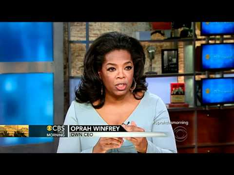 Oprah Winfrey on love, friendship and philanthropy