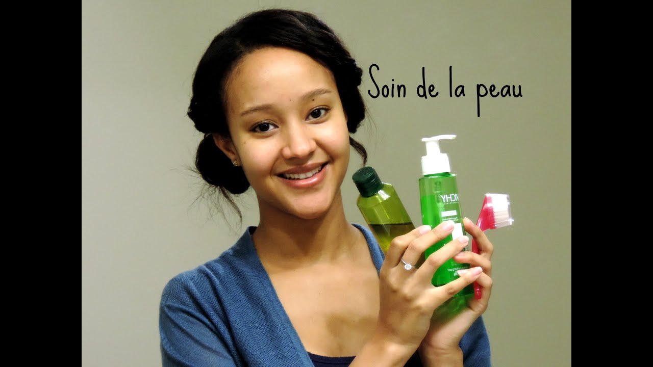 Ma routine soin de la peau anti acn t ches brunes imperfections youtube - Comment enlever les taches de regles ...