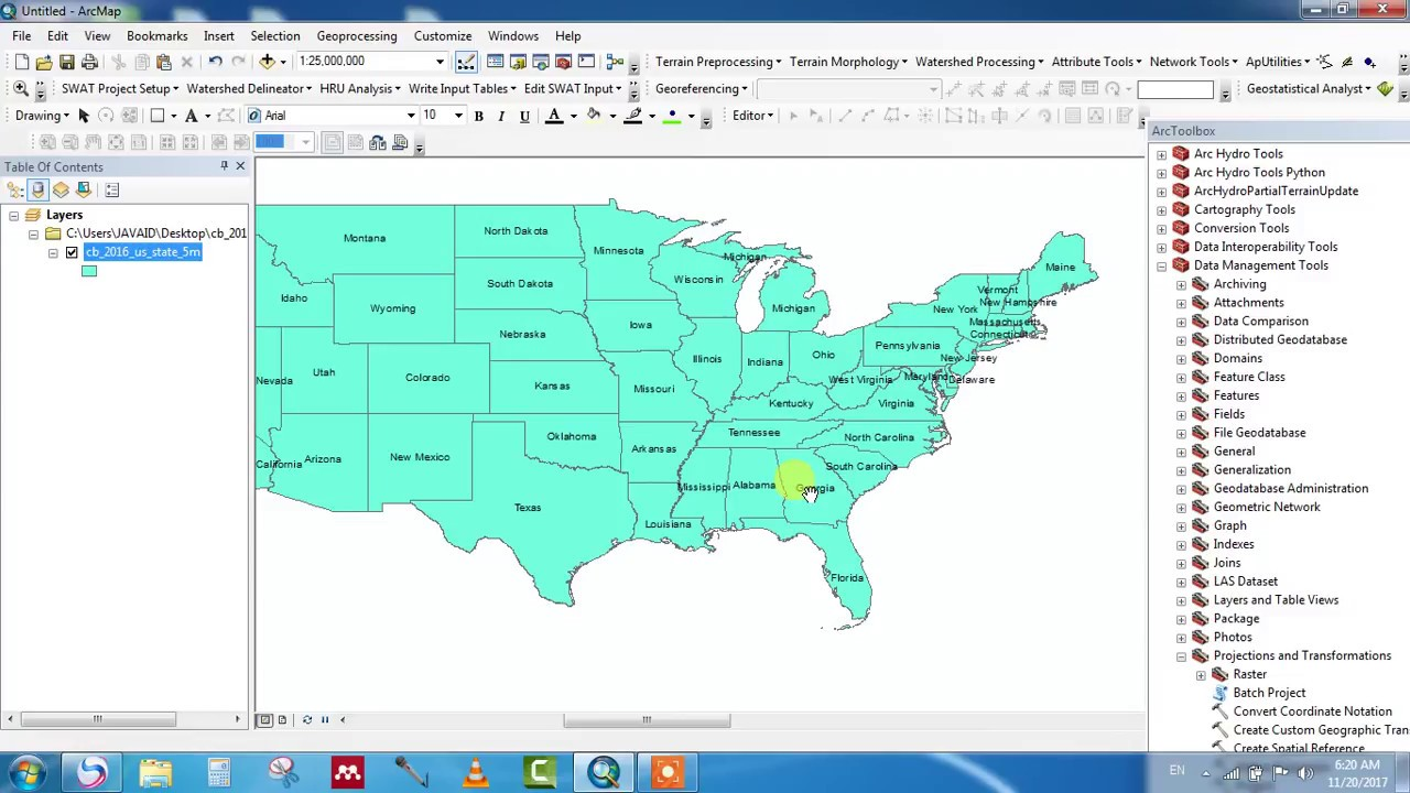 How to clip shapefile in ArcGIS