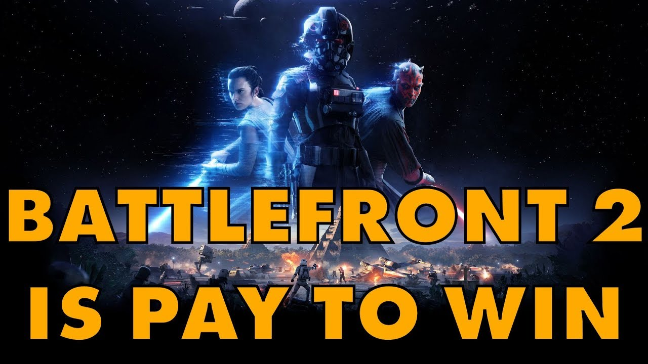 Star Wars Battlefront 2: A Pay-To-Win Loot Box Bollock Hole