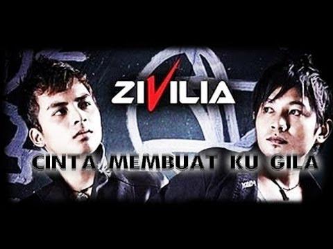 Zivilia - Cinta Membuatku Gila + Lirik TERBARU 2014