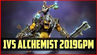 MVP.Hot6.DuBu Alchemist 1v5 2019GPM gameplay DOTA 2