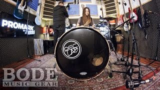 Bode Music Gear - Evans Drumheads Comparison - Bassdrum Heads