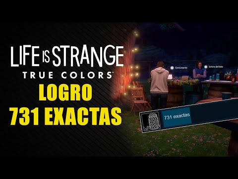 "Life is Strange: True Colors - Logro ""731 exactas"""