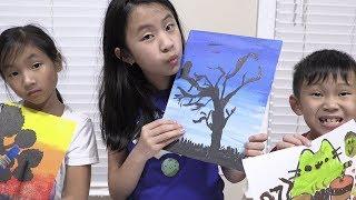 Pretend Play Painting Art Challenge