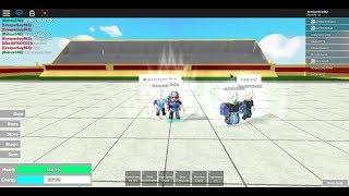 jugando con alfonzo a dragon ball rage - roblox dragon ball rage