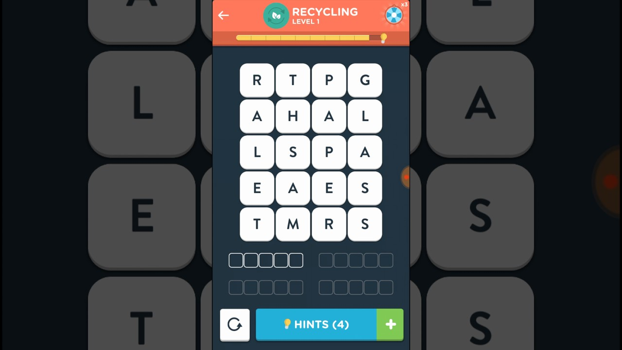 Wordbrain 2 In Der Küche Level 2 Wordbrain 2 Master Recycling Level 1-5 Answers Walkthrough