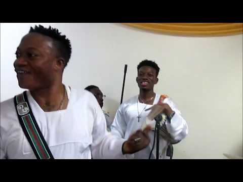 Mega 99 & Bisi Alawiye at C&S Bronx, NY Church Anniversary 6