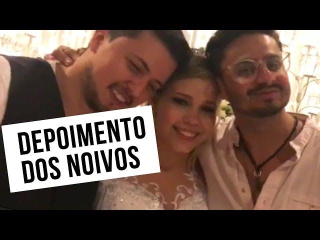 DEPOIMENTO DOS NOIVOS - Claire e Lucas - BANDA FÊNIX