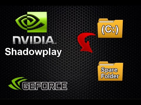 nvidia shadowplay recording location