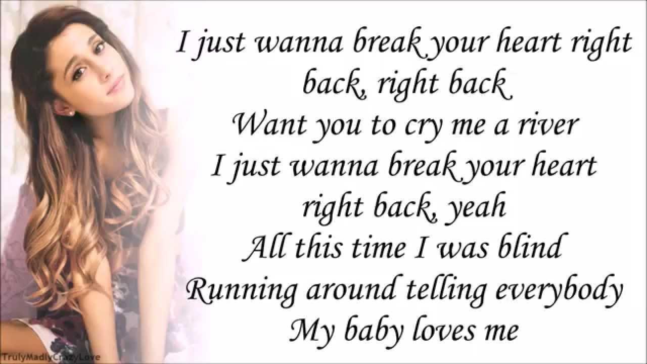 Ariana Grande Feat Childish Gambino Break Your Heart Right Back