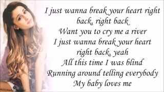 Ariana Grande feat. Childish Gambino - Break Your Heart Right Back (with Lyrics)