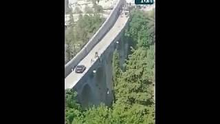No Time To Die - Bridge stunt, Gravina ponte Viadotto (22 august 2019)