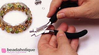 How to Use the Beadalon Memory Wire Finishing Pliers