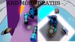 ALL DEATHS AND FALLS IN ONE   Roblox Tower of Hell Death and Fall Compilation